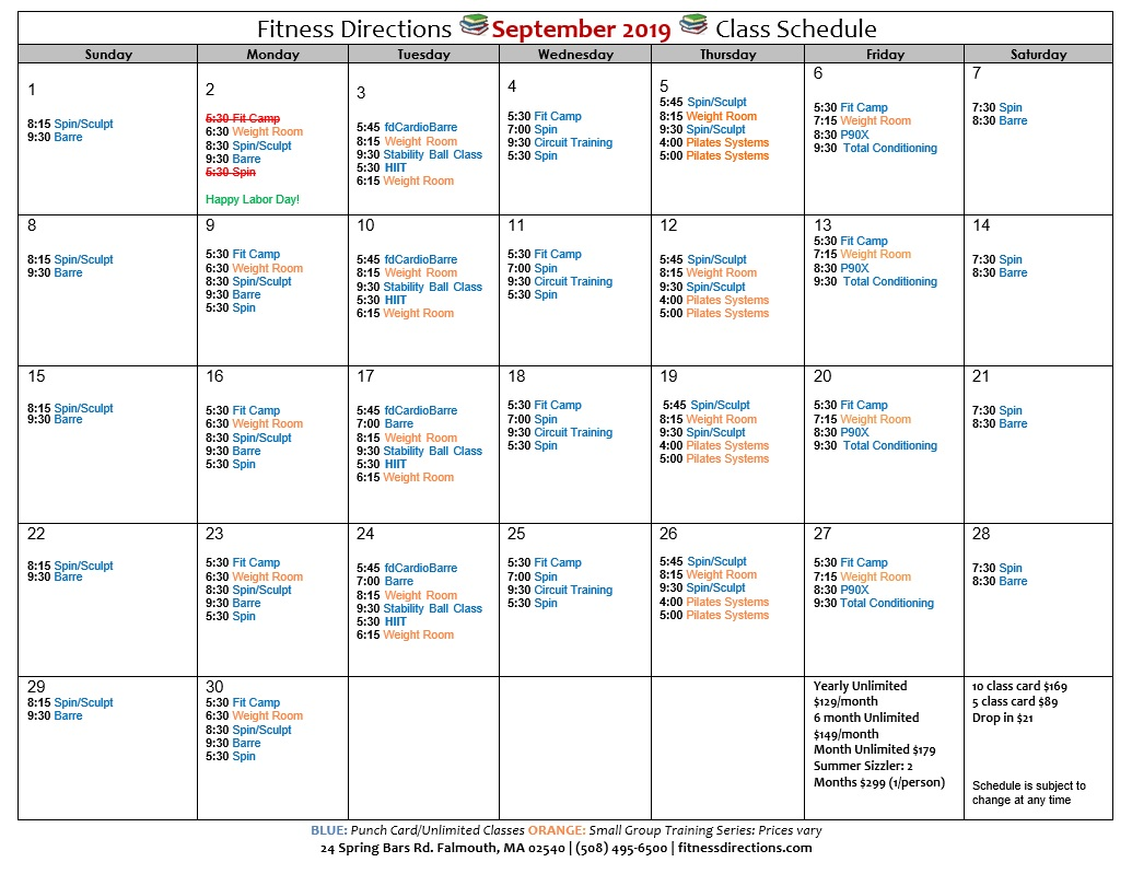 image regarding Printable Schedule named Printable Routine Physical fitness Recommendations